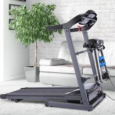 Electric Treadmill Folding Home Walking Running Machine LCD Display Weight Loss Electric Treadmill, Running Machines, Walk Run, Space Saving, Small Spaces, Walking, Weight Loss, Display, Home