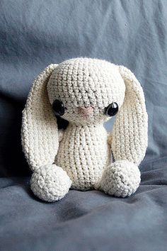 Amigurumi Bunny - Crochet Pattern.