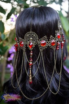 Red+Queen+Circlet+bronze+