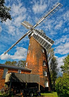Buttrums Windmill, Suffolk, UK | Flickr - Photo Sharing!