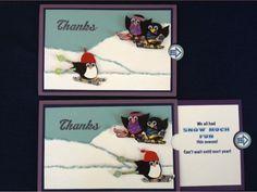 Slider Skiing Penguin using owl punch