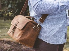 Thoughtful handmade and vintage gifts for men this spring / summer. We have a wide range of gifts for every man in your life. Leather Camera Bag, Leather Bags, Unique Gifts For Men, Gifts For Him, Vintage Gifts, Messenger Bag, Satchel, Range, Christmas