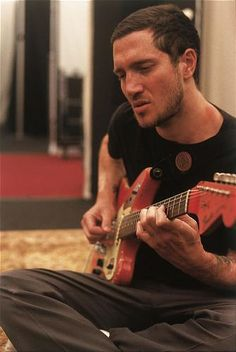 John Frusciante (amazing guitarist for the Chili Peppers)