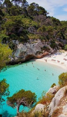 Cala Mitjaneta, Menorca, Spain ~ found on traveler.es/viajes/rankings/gallerias/  ~  Fabulous Photography.