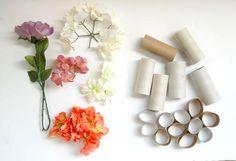 floral art DIY project