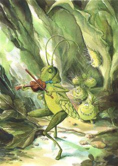 Little Violin Player by asiapasek