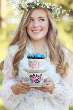 Cupcakes & Tea     shelly smith photography