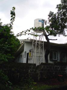 Combating dengue in Manila: keep an eye on that water container