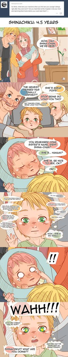 Naruto AU - Shinachiku meets Hanami by Kirabook on DeviantArt