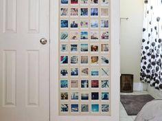 Peignez un pan de mur d'une couleur différente pour vos photos
