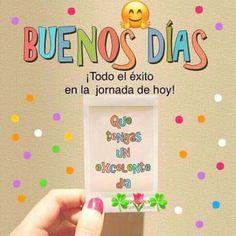 Buenos días Good Morning Good Night, Good Day, Morning Thoughts, Morning Messages, Love Messages, Iphone Wallpaper, Qoutes, Positivity, Frame