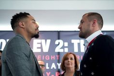 Robbie N. (Texas): You can argue that Andre Ward lost (to Kovalev), we saw GGG look beatable against Jacobs, and Roman Gonzalez is obviously beatable, as well. Sergey Kovalev, Lounge, Boxing News, Conference, Champion, Hollywood, Shit Happens, Goal, Fans