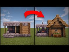 Minecraft: How To Remodel A Village Butcher's Shop - YouTube