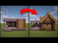 Minecraft: How To Remodel A Village Butcher s Shop YouTube Minecraft architecture Minecraft blueprints Minecraft designs