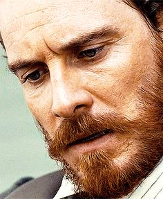 Those eyes... Michael Fassbender/Edwin Epps - 12 Years A Slave.