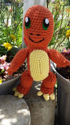 Check out this item in my Etsy shop https://www.etsy.com/listing/466595314/lizard-charmander-inspired-pokemon