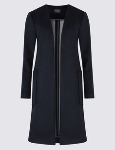 M&S Double Face Blanket Coat