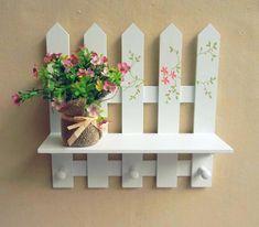 3 Positive Tips: Modern Fence Walkways fence diy vertical.Fence Door How To Build. Diy Crafts Hacks, Diy Home Crafts, Diy Projects, Popsicle Stick Crafts, Craft Stick Crafts, House Plants Decor, Plant Decor, Diy Para A Casa, Stick Art