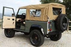 Defender 90, Land Rover Defender, All Terrain Tyres, Rubber Floor Mats, Engine Rebuild, Gasoline Engine, Drum Brake, Roll Cage, Transfer Case