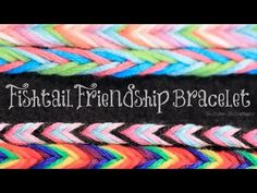DIY Fishtail Friendship Bracelet - Easy String Bracelets How To, My Crafts and DIY Projects