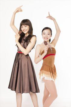 松井愛莉(左)・本田真凜(右)