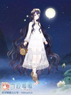 Xinyi coz she has really long hair