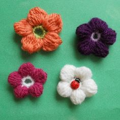 Free Patterns - hats, headbands, scarves, flowers, dishrags