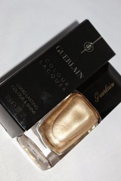 Guerlain Haul Post on Glamour. Glitter. Gloss. blog, featuring Coque D'Or Colour Lacquer Nail Polish