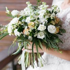 A bouquet of flowers perfect for a Rustic Style Wedding.