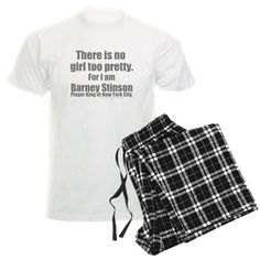 HIMYM Player King of NYC Pajamas There is no girl too pretty. For I am Barney Stinson, Player King of New York City Official How I Met Your Mother T-shirts, Mugs, and more great fan gear. #BarneyStinson #NeilPatrickHarris #HumorTees #NYC