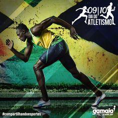 Dia do Atletismo - Photoshop CS5