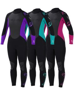 Odyssey 3mm Ladies Women'S Wetsuit WET Suit Full Steamer Titanium Swim Surf XS L | eBay $55.07