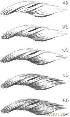 Tutorial: Kurzes Haar zeichnen – Sehr detailliertes Tutorial mit vielen Bildern Tutorial: Drawing short hair – Very detailed tutorial with many pictures … – Drawing Techniques, Drawing Tips, Drawing Reference, Painting & Drawing, Drawing Hair, Hand Reference, Drawing Drawing, Drawing Faces, Pose Reference