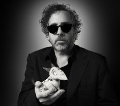 I would love to have dinner with Tim Burton, Helen Bonham Carter & Johnny Depp. Well actually it would be nice to leave with Johnny too. Estilo Tim Burton, Art Tim Burton, Film Tim Burton, Tim Burton Johnny Depp, Tim Burton Style, Burton Burton, Quentin Tarantino, Films Western, Film Facts