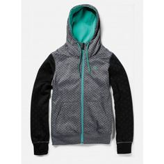 Volcom Womens Snow Fleece Stone Dot Brushed Nickel