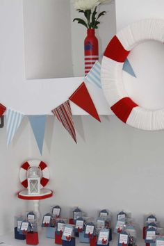 Nautical Baby Shower Party Ideas | Photo 5 of 30