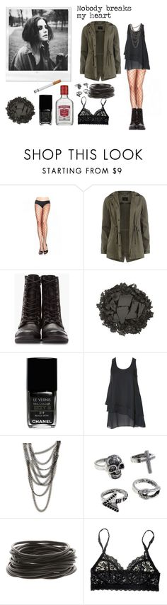 """""""Effy Stonem"""" by viviacid ❤ liked on Polyvore featuring Dorothy Perkins, Diesel, Urban Decay, Chanel, Alice + Olivia, Fannie Schiavoni and Hanky Panky"""