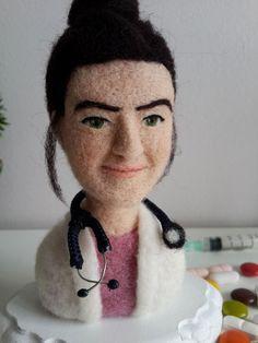needle felted custom wool doll www.keceinadi.com