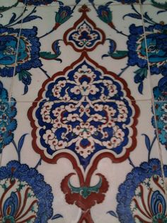 Çini; Rüstempaşa Camii'nden