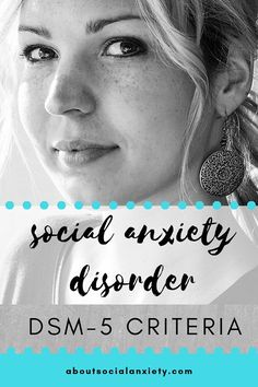 Read the social anxiety disorder criteria to see if they match the symptoms you are experiencing and whether an assessment is needed. Social Anxiety Treatment, Social Anxiety Symptoms, Anxiety Disorder Treatment, Anxiety Facts, Social Anxiety Disorder, Mental Disorders, Anxiety Coping Skills, Anxiety Tips, Anxiety Help