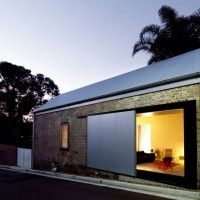 Tiny Warehouse Converted Into The Shed Residence by Richard Peters Associates