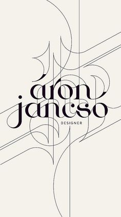 I don't know who Aron is but i can tell you he's an awesome designer.
