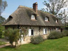 20 minutes de Deauville authentique chaumière rénovée