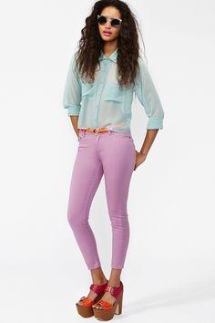 Run Down Skinny Jeans