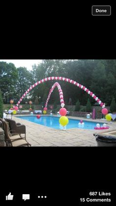 Pool party idea <3 love this fore Zoe's 5th birthday