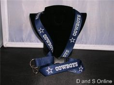 ID BADGE LANYARD DALLAS COWBOYS NEW #DallasCowboys