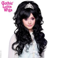 COUNTESS COLLECTION - Noir (Black Mix) blend of black fibers in high bouffant hairstyles for drag queens, burlesque, stage, screen, Halloween and drama. 1960s Looks, Hair Rainbow, Wig Store, Natural Wigs, Anime Wigs, Wig Party, Red Wigs, Black Wig, Pastel Hair