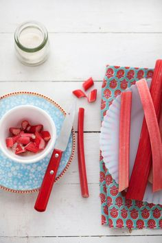 Sophie Dahl's Eton Mess and Watermelon Radishes :: Cannelle et Vanille