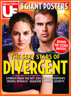 Pick up our #Divergent issue today! On stands now and at http://bn.com/usdivergent !