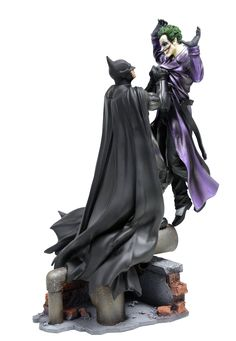 Batman vs Joker statue (Arkham Origins EU Collector's Edition)